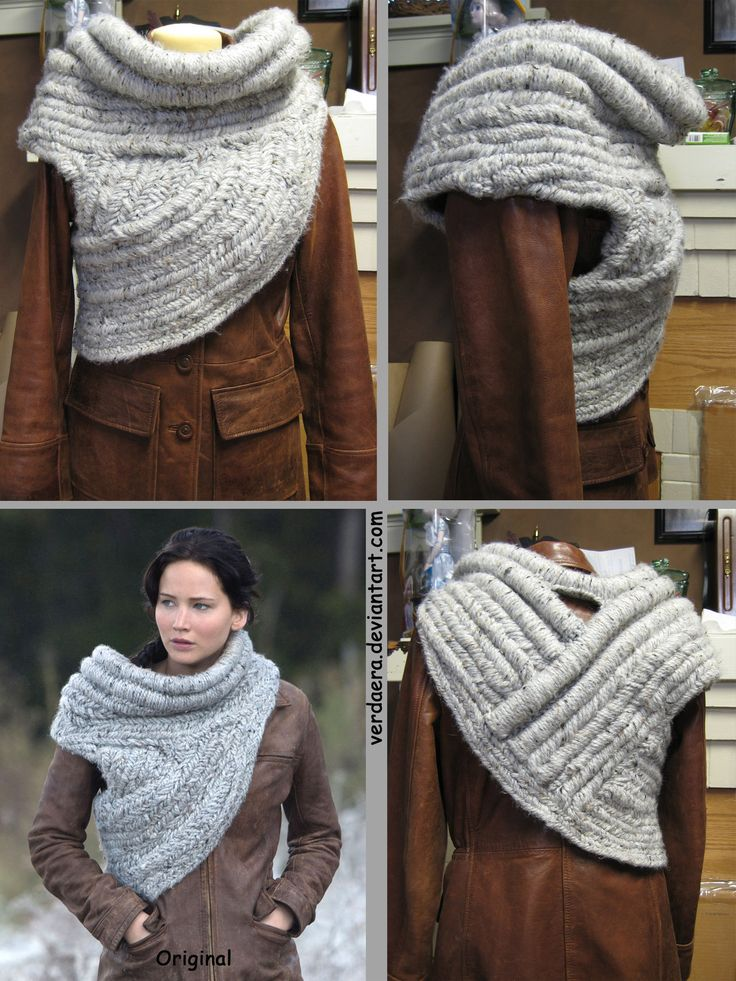 12 best katniss cowl images on Pinterest | Cowls, Hand crafts and ...