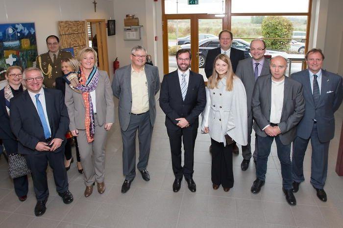 Luxemburger Wort - Erbgroßherzogliches Paar besucht Schreinerei: