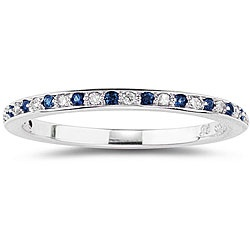 I know this is random....but i kinda changed my mind and think I want a sapphire and diamond wedding band instead of just diamond...just a thought