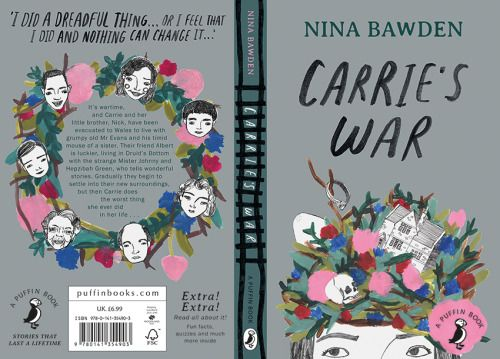 Penguin Book Cover Carrie S War ~ Book cover design by tree abraham of carrie s war nina