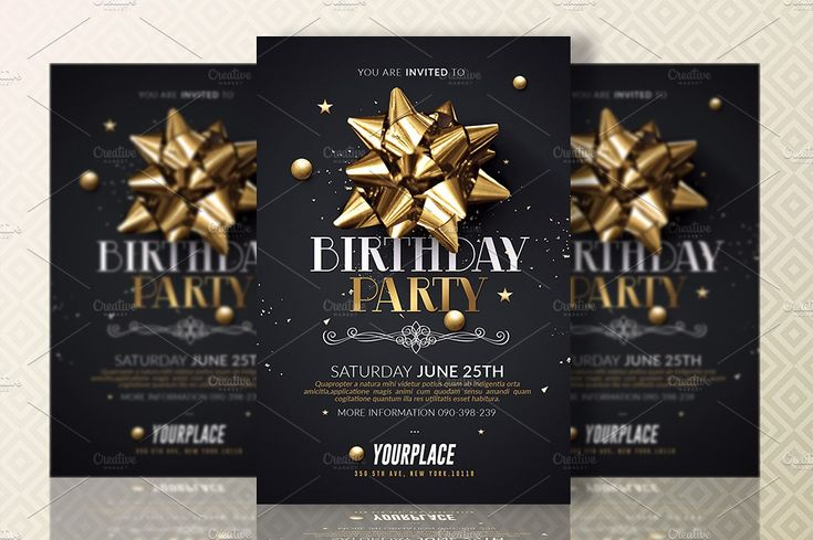 Best Birthday Invitation Templates Images On