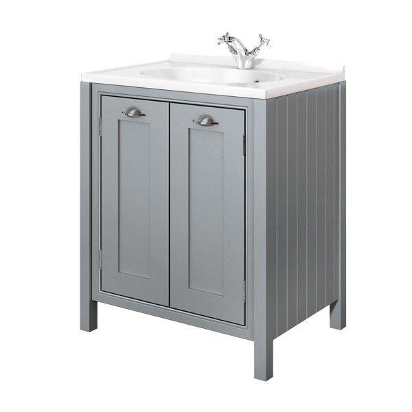 Moods Eterno Mist 2 Door Vanity Unit 700mm - Moods Bathrooms - Brands