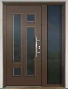 GAVA 464b FD RAL 8014 vchodové dvere