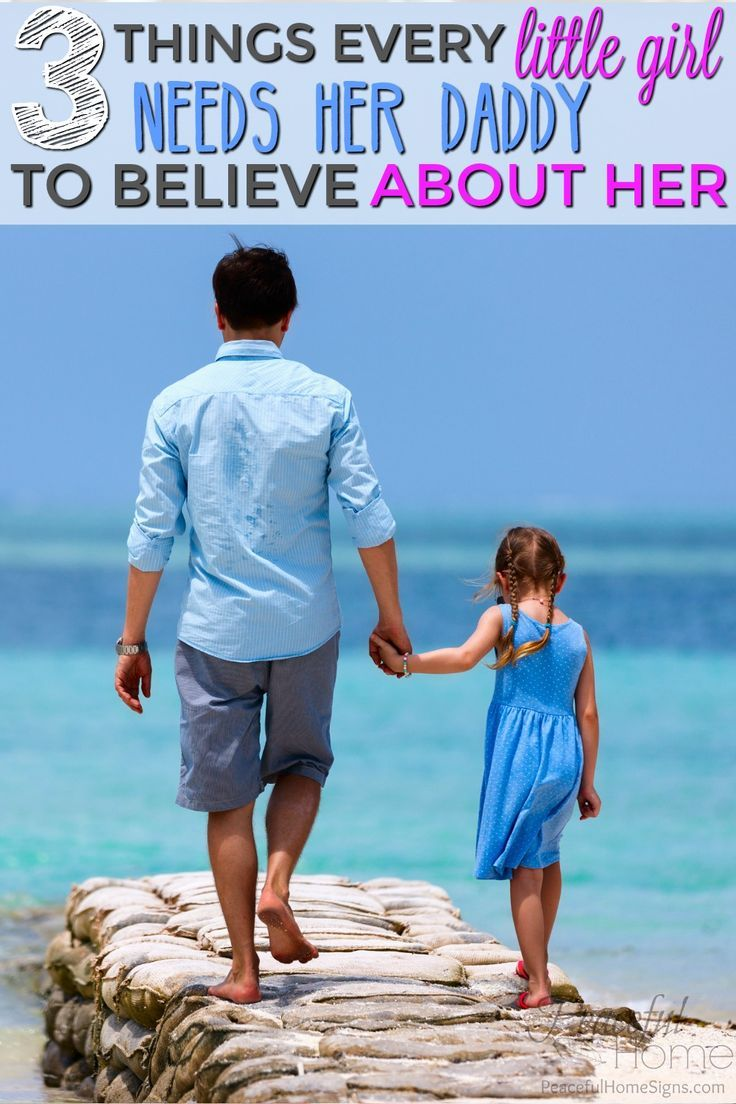 Advice to Dads | Christian Dads | Teaching Your Daughter Purity | What A Daughter Needs | How to connect with your daughter | Christian Dad Advice | Christian Mom Blog | 3 things every little girl needs her daddy to believe about her