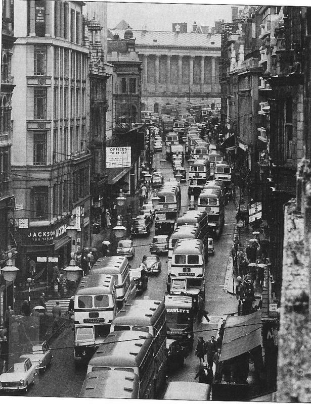 New Street Birmingham 1960s.