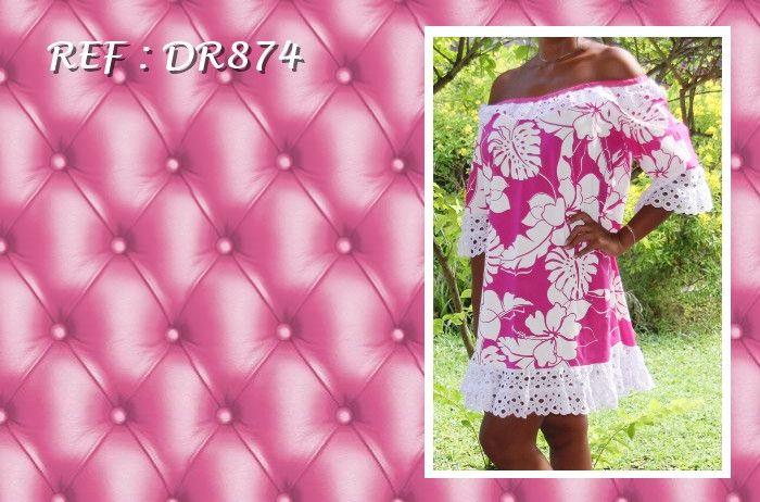 Pour tous les jours ou un évènement spécial, Elise Créations vous propose des robes tahitiennes, ensembles... Pour femmes et petites filles.