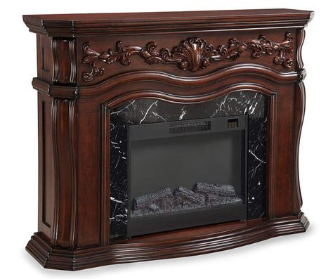 """62"""" Grand Cherry Electric Fireplace at Big Lots.                                                                                                                                                                                 More"""