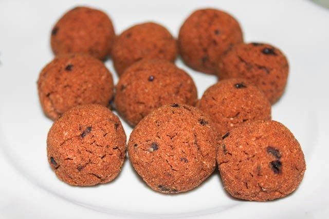 Гречневые запеченные конфеты. Без глютена, без казеина, без яиц