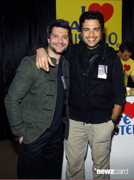 Actor Marcelo Cordoba (L) and actor/singer Jaime Camil attend the 13th annual Latin GRAMMY Awards Gift Lounge held at the Mandalay Bay Events Center on November 14, 2012 in Las Vegas, Nevada.  (Photo by Bryan Steffy/WireImage)