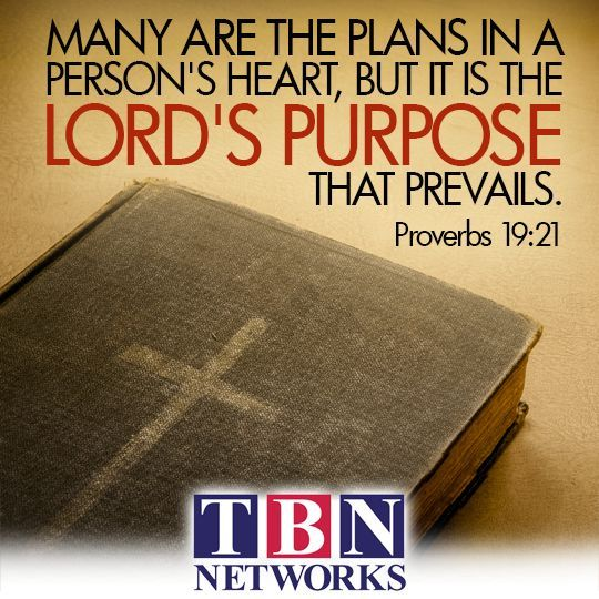 """Wisdom Sayings & Quotes    QUOTATION – Image :    Quotes Of the day  – Description  """"Many are the plans in a person's heart, but it is the Lord's purpose that prevails"""" Proverbs 19:21  Sharing is Caring – Don't forget to share this quote with those..."""