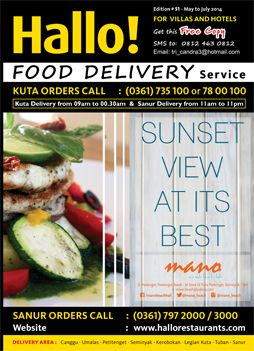 Food delivery Bali