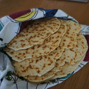 Snabbt stekpannebröd - Recept - Mitt Kök