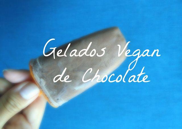 Gelado Vegan de Chocolate (3 ingredients, s/máquina)   Veggie and Full