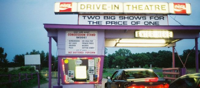 Big Sky Twin Drive-In Theater ~ Wisconsin Dells, WI