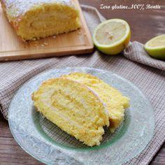 Rotolo con crema al limone senza glutine e lattosio