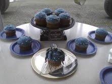 Kraken Black Spiced Rum Cupcakes and Buttercream.