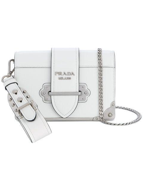 ecebf53693 PRADA . #prada #bags #shoulder bags #leather #nylon #   Bags   Prada ...