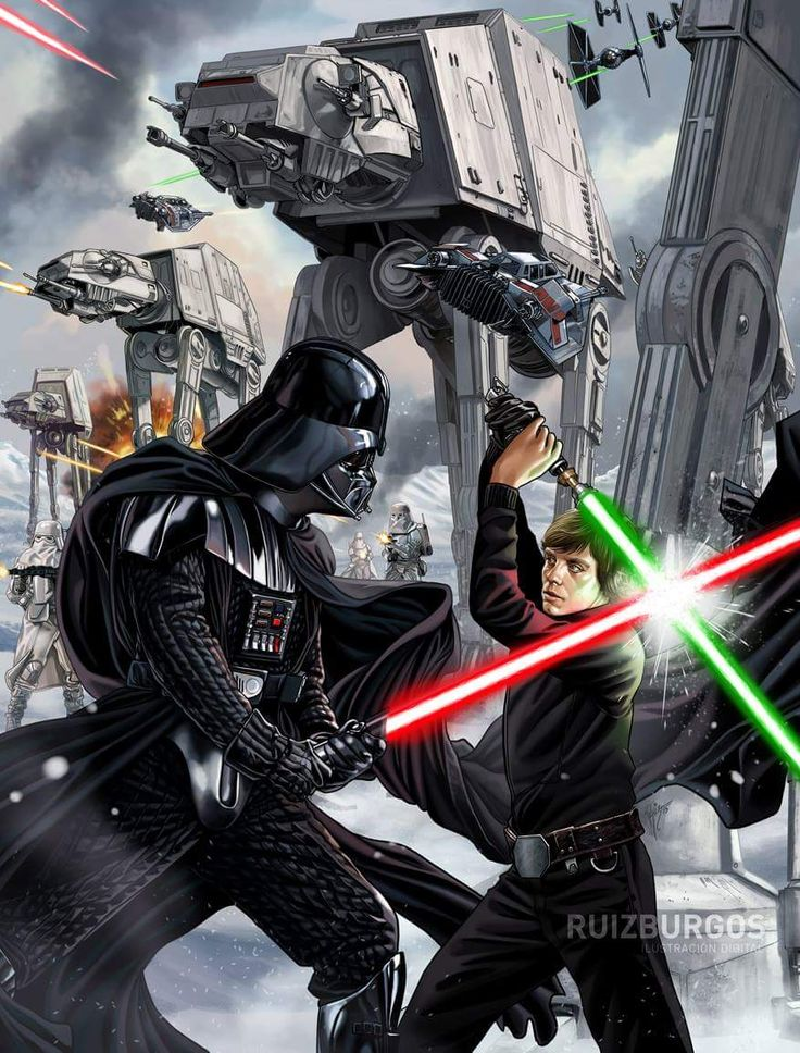 Star Wars Battlefront by Ruiz Burgos