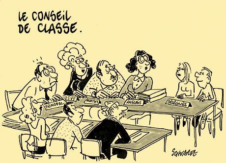 Le conseil de classe