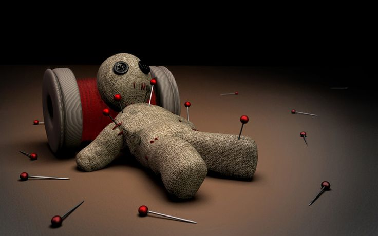 DIY Voodoo Dolls -- Have a grudge you can't get rid of? Learn the ancient art of voodoo doll crafting. We'll show you how to stuff & stick your new little friend to get back at your old enemy. #voodoo #crafts #diy #crazyclasscontest