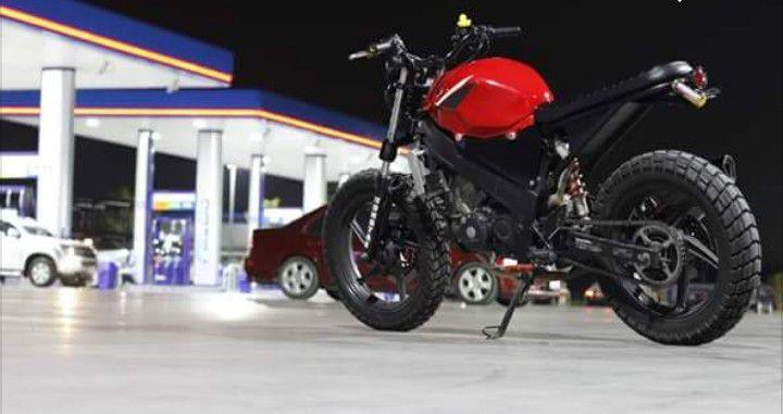 Modifikasi Honda Cbr 150 Cbu Ala Scrambler Sakahayangna Com