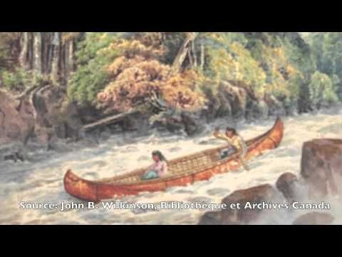 Les déplacements chez les Iroquoiens vers 1500
