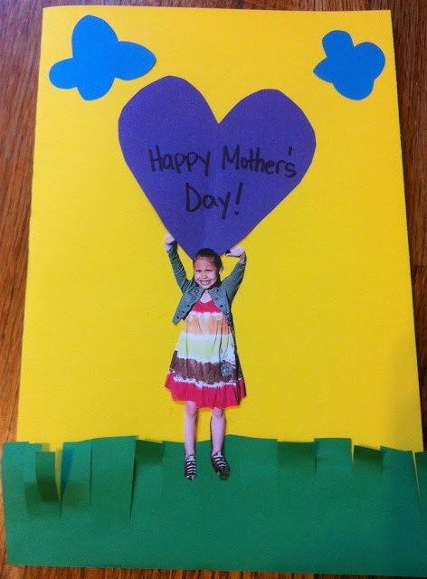 With Mother's Day inching closer and classroom chaos on high (this time of year is NUTS), I thought I would share a card idea.  I have never really been happy with the Mother's Day cards I've run with in the past, so I played around today and created one.  Check it out . . .