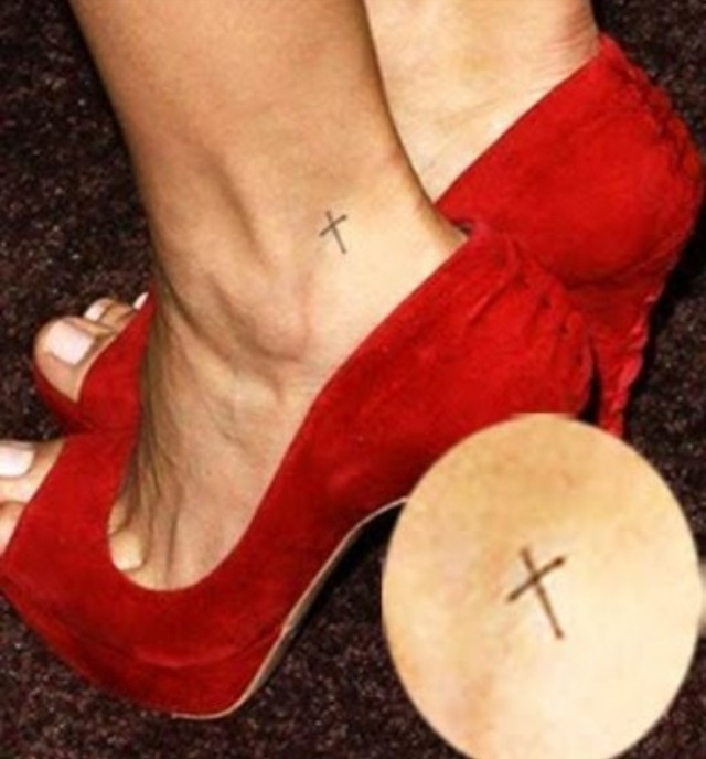 best 25 cross tattoo foot ideas on pinterest cross