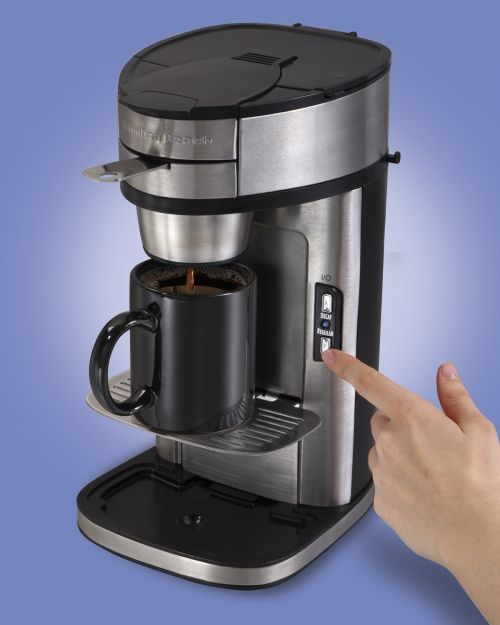 The Scoop® Single-Cup Coffee Maker | One Cup Coffee Maker | Hamilton Beach