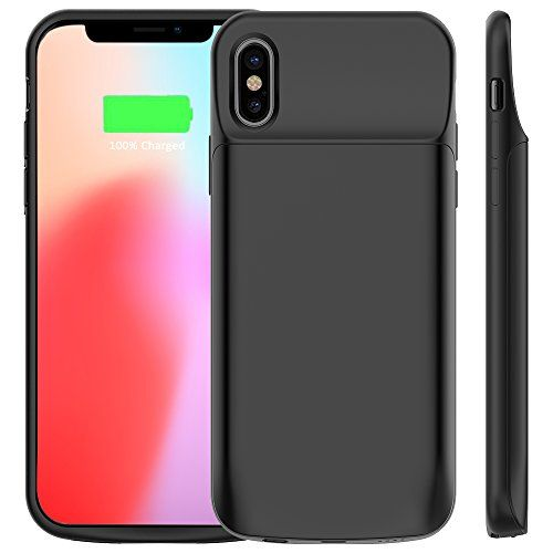 "Vobon Funda Bateria iPhone X, 6000mAh Carcasa Bateria, Externa Recargable Protector Cargador Power Bank Case para Apple iPhone X / iPhone 10(5,8"" ) (Negro) #Vobon #Funda #Bateria #iPhone #Carcasa #Bateria, #Externa #Recargable #Protector #Cargador #Power #Bank #Case #para #Apple #(Negro)"