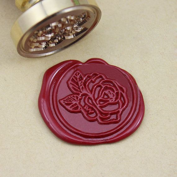 Note: The custom wax seal stamp need 2 days to make.  - These stamps are really very beautiful and practical. You can use them to decorate
