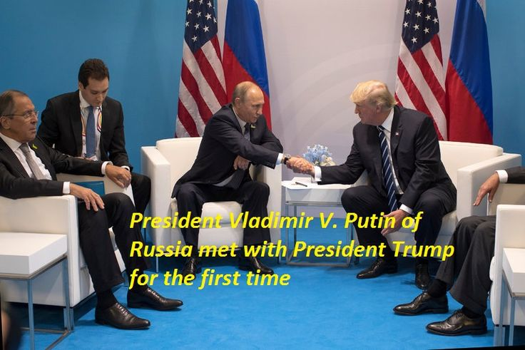 President Vladimir V. Putin of Russia met with President Trump for the first time during the Group of 20 summit meeting in Hamburg, Germany, this month.   #abc local news #abc news #american news #bbc news #best news today #breaking news #current news #headline news #Latest News #Moscow news #msnbc news #national news #nbc news #news #today news #today's headlines #todays news #top news stories #world news