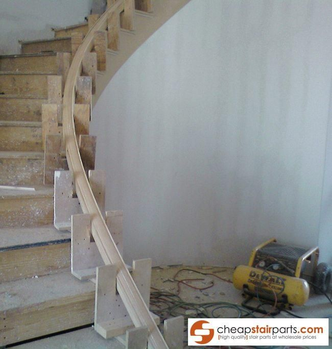 Best How To Bend Wooden Stair Handrail In 2020 Wooden Stairs 400 x 300
