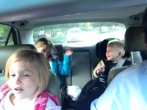 Bohemian Rhapsody On The Way To School - this will be me and my kids one day!!! :D this dad gets an A+....thank you for teaching your kids what real music is! no bieber or selena for these guys! :)