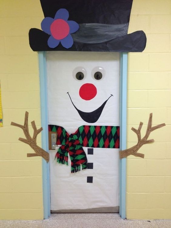 White Christmas Classroom Decorations : Best images about elementary classroom doors on pinterest