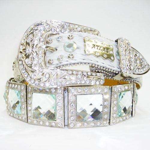 I'd definitely be a rhinestone cow(girl) with this!