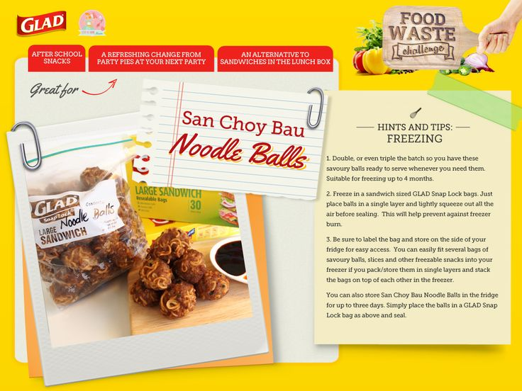 San Choy Bau Noodle Balls | Stay at Home Mum #LeftOverLove