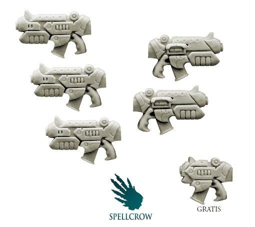 Space Knights - Rapid Guns (Empire Pattern) PRE-ORDER - SPELLCROW