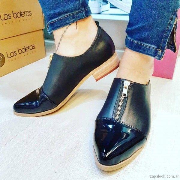 4905db95c7a1f zapatos con cierre primavera verano 2018 - Las Boleras