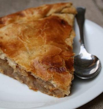 Photo de la recette : Galette des rois aux pommes et aux épices