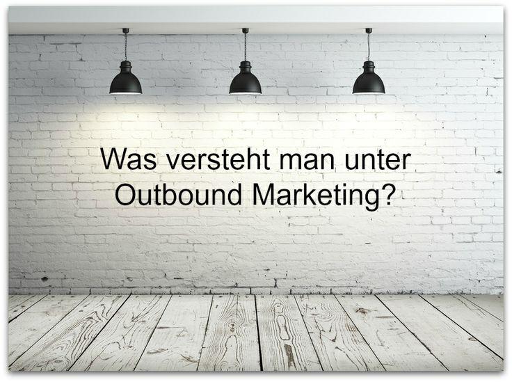 Outbound Marketing sind alle klassischen Marketingmaßnahmen, bei denen Unternehmen bzw. Organisationen aktiv auf ihre Zielgruppen zugehen. Angefangen bei Direct-Mailings, über TV- und Radio-Spots bis hin zu Telefonmarketing. Lassen Sie sich von aktuellen Trends nicht täuschen, zielgruppenspezifische Maßnahmen des Outbound Marketing zählen immer noch zu den effektivsten Werbemitteln.