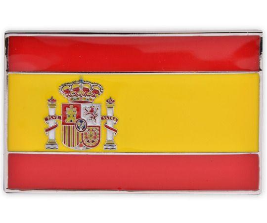 Spain Flag Buckle