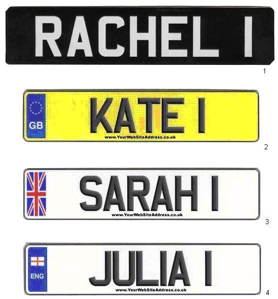 best 25 personalised registration plates ideas on. Black Bedroom Furniture Sets. Home Design Ideas