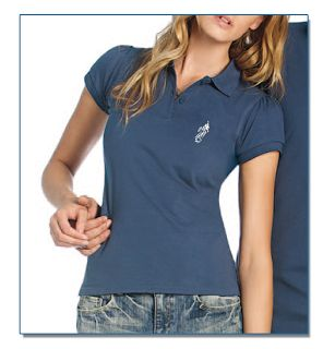 SeaHorse-Collection, women's polo shirt in heavy piqué, 39,99€