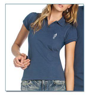 SeaHorse-Collection, women's polo shirt in heavy piqué, 39,99€