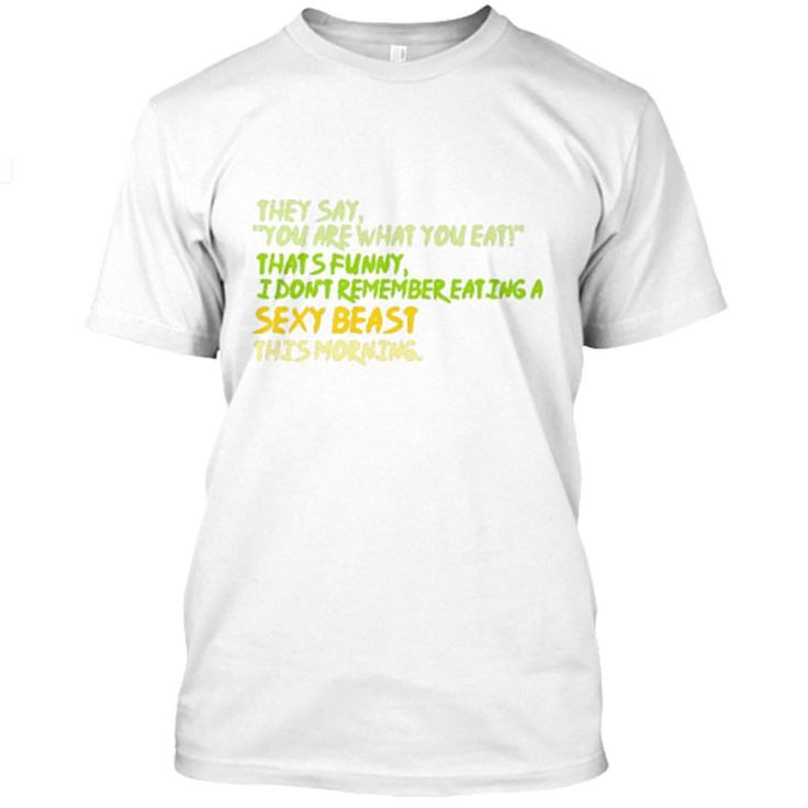 """16 Likes, 1 Comments - CrownedGarlands (@crownedgarlands) on Instagram: """"Funny Healthy Eating Tee. Link in bio . . . . . #teespring #tee #funny #whitetee #healthylifestyle…"""""""