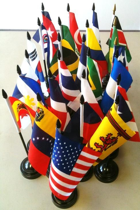 World flags - want a set for my classroom when I get one