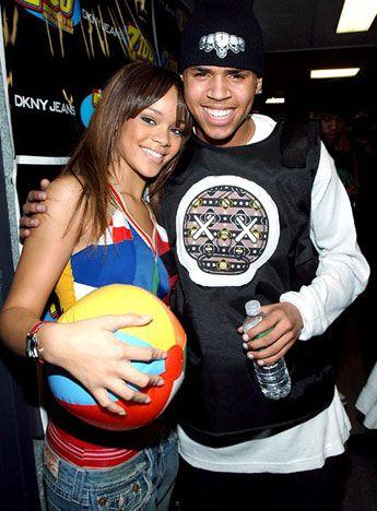 Young Love ❤   Chris and Rihanna