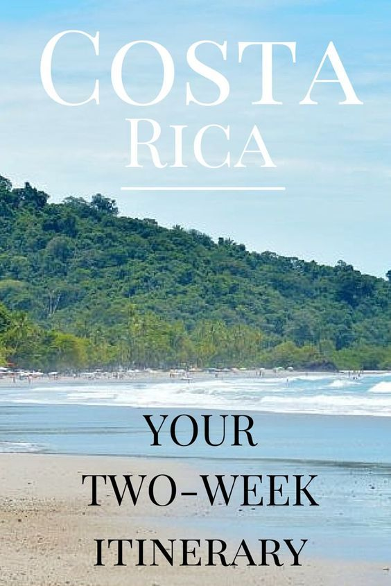A 2-week itinerary for seeing the best of Costa Rica http://www.twoweeksincostarica.com/costa-rica-your-2-week-itinerary/ #CostaRica #vacation  #internabroad #volunteerabroad #atenas #worldendeavors #wanderlust #changeyourworld