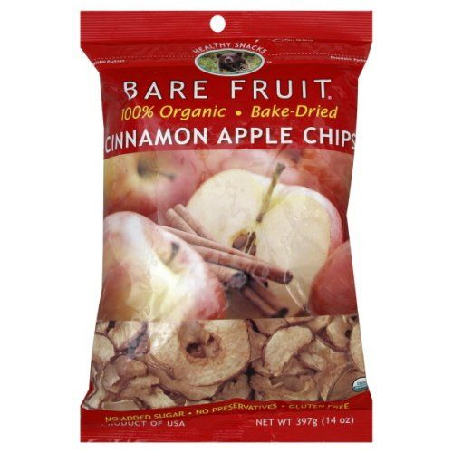 Bare Fruit Organic Cinnamon Apple Chips – 1 Points +